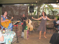 The Hula Honeys play Hawaiian music on Maui