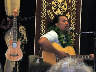 Willie Kahaiailia'i is Uncle Willie K