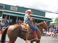 Coolest Cowboy: Hui! In the Makawao, Maui, Hawaii, Fourth of July Parade