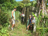 The Maui trail clearing crew ready to go to work!