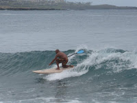 stand up paddle surfing on Maui