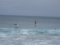 stand up paddle board surfing on Maui Hawaii