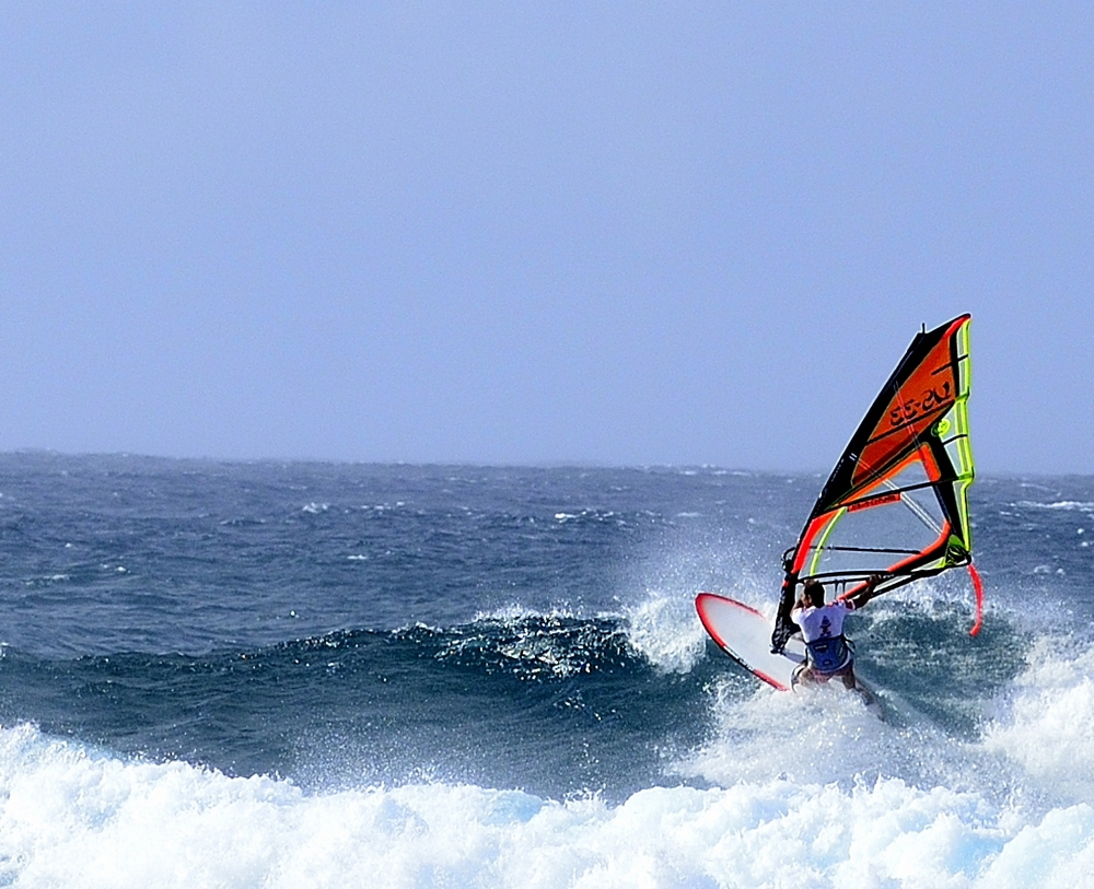 Maui hawaii has world class windsurfing at Ho'okipa State Beach Park