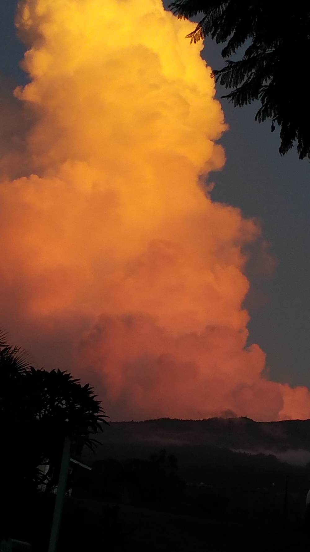 Haleakala Sunset Cloud