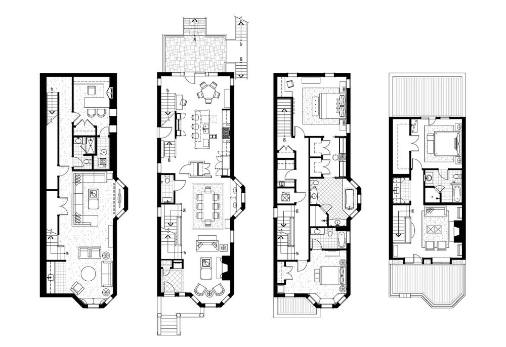 Chicago Greystone Floor Plans - The Ground Beneath Her Feet