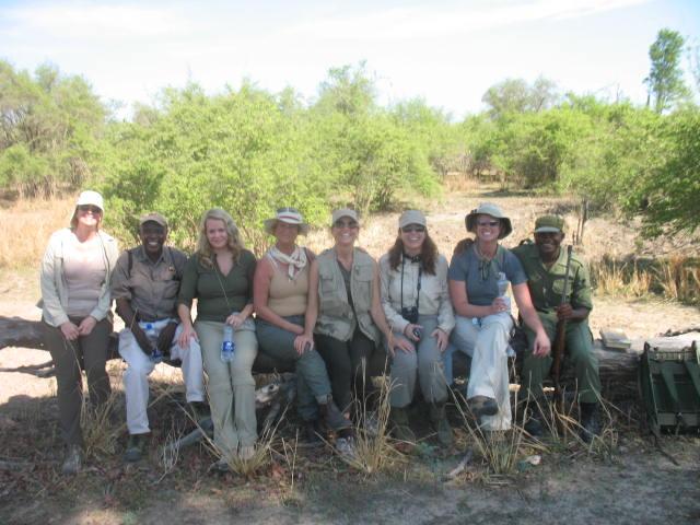 Donielle Alexander, Peter Zulu, Shera Pillsbury, Caroline Jones, Stacy James, Joanne Hardy, Sarah Early, & Scout in 2011