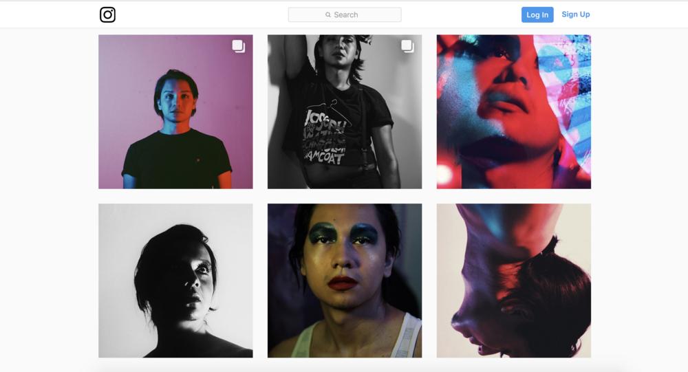 Raf Antonio (JUN 2017), 6 stills, Instagram screengrab.