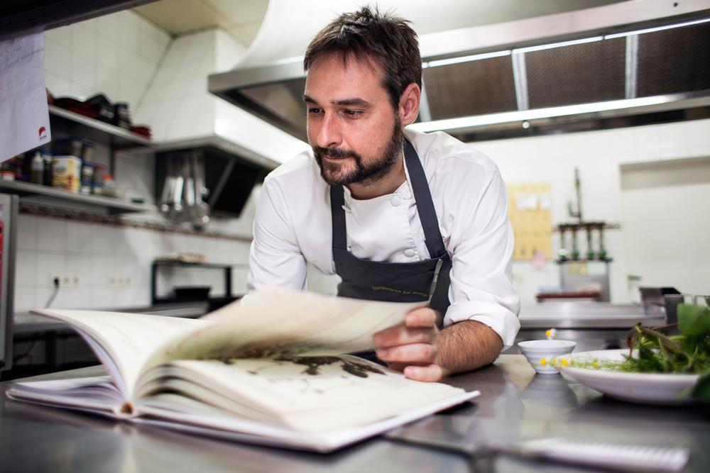Miguel de la Cruz, restaurante La Botica.