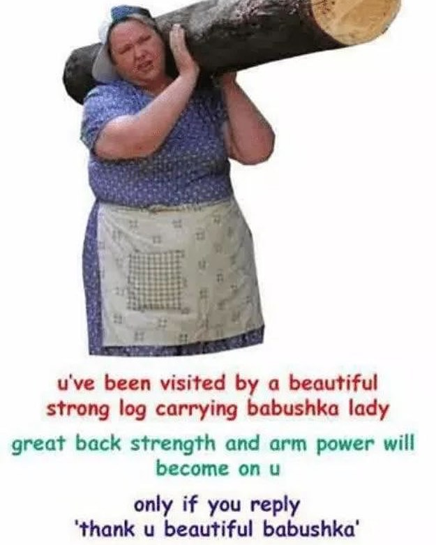 THANK U BTFL BABUSHKA #backstrength