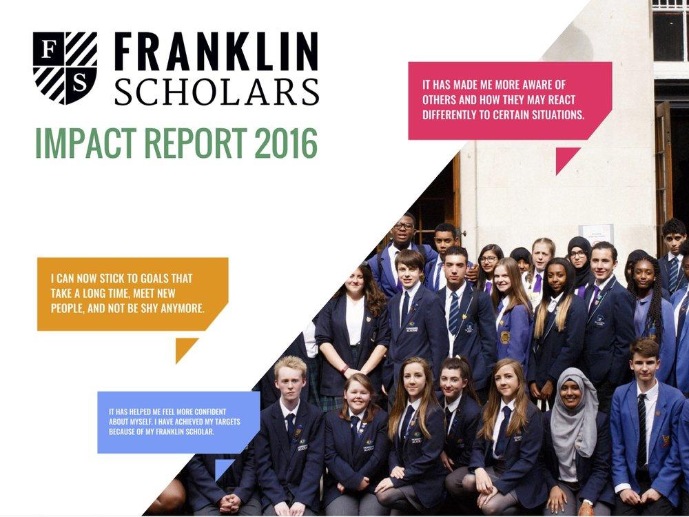 Franklin Scholars Impact Report 2016.jpg
