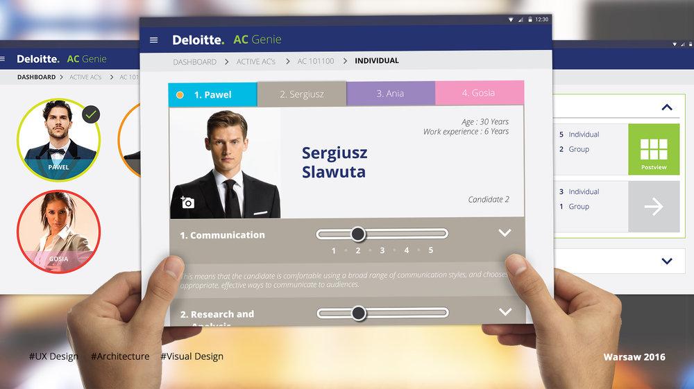 Assessment Genie - Deloitte