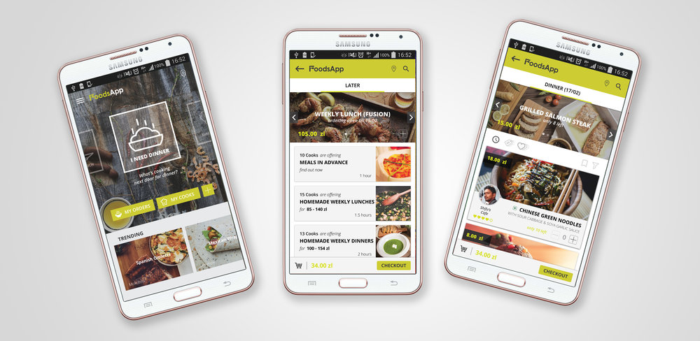 Intuitive, Simple and full of surprises - FoodsApp Customer App.