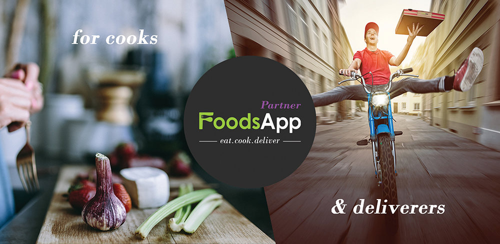 Seamless experience for Cooks/Deliverers through the Partner App.