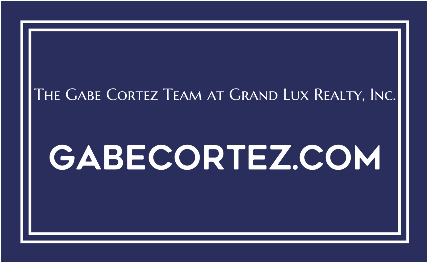 The Gabe Cortez Team