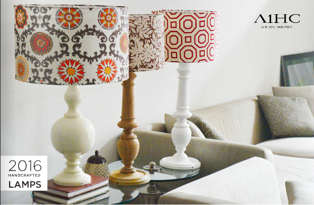 Explore the Handcrafted Lamps Catalog >