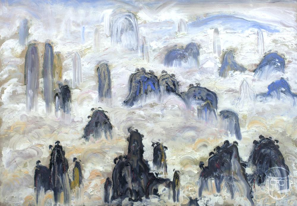 Pandora's floating mountains Zhangjiajie