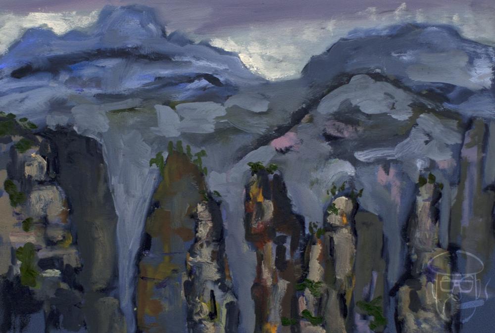 Mountains #6 Zhangjiajie