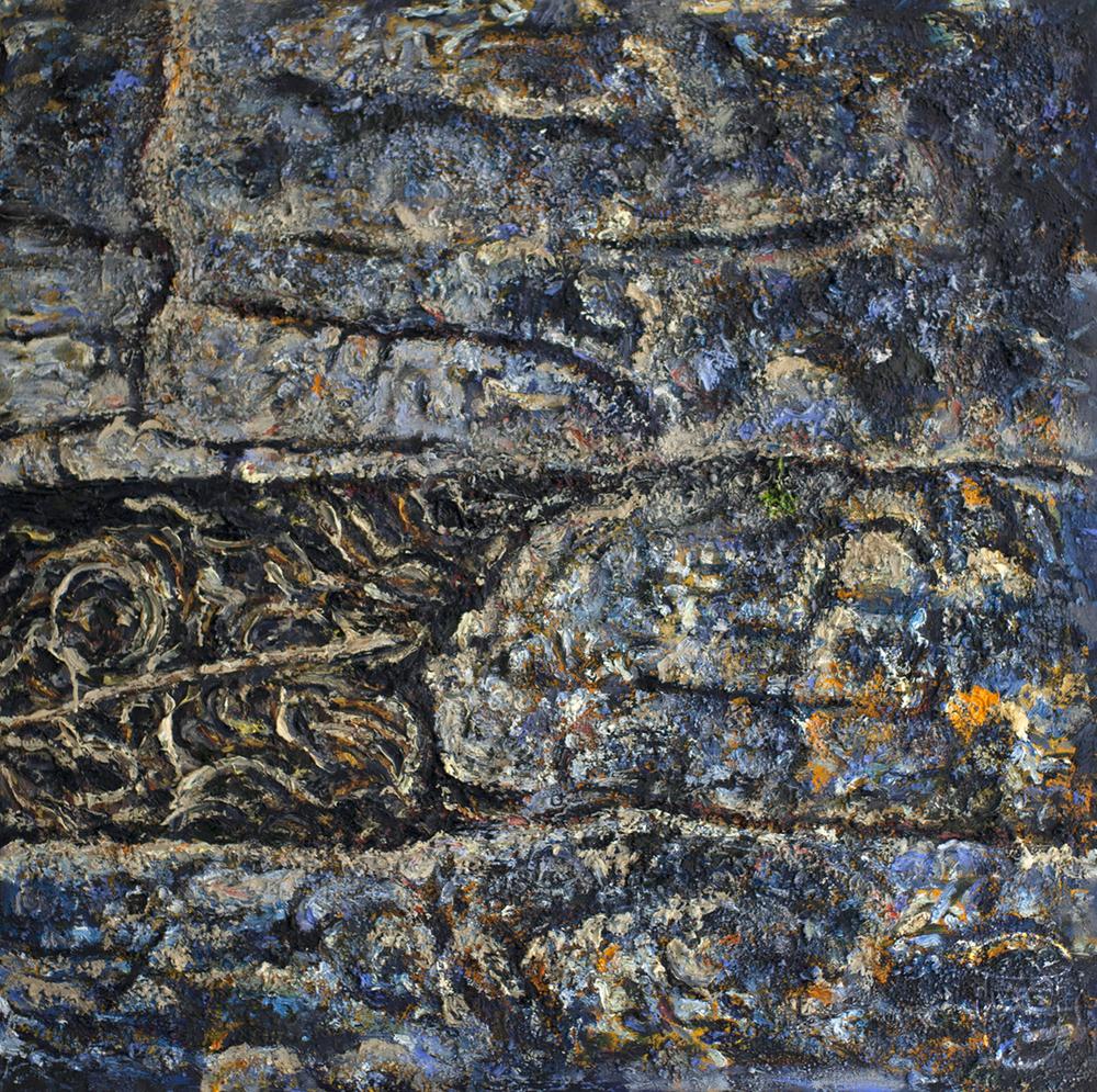 Rock Face Central Australia
