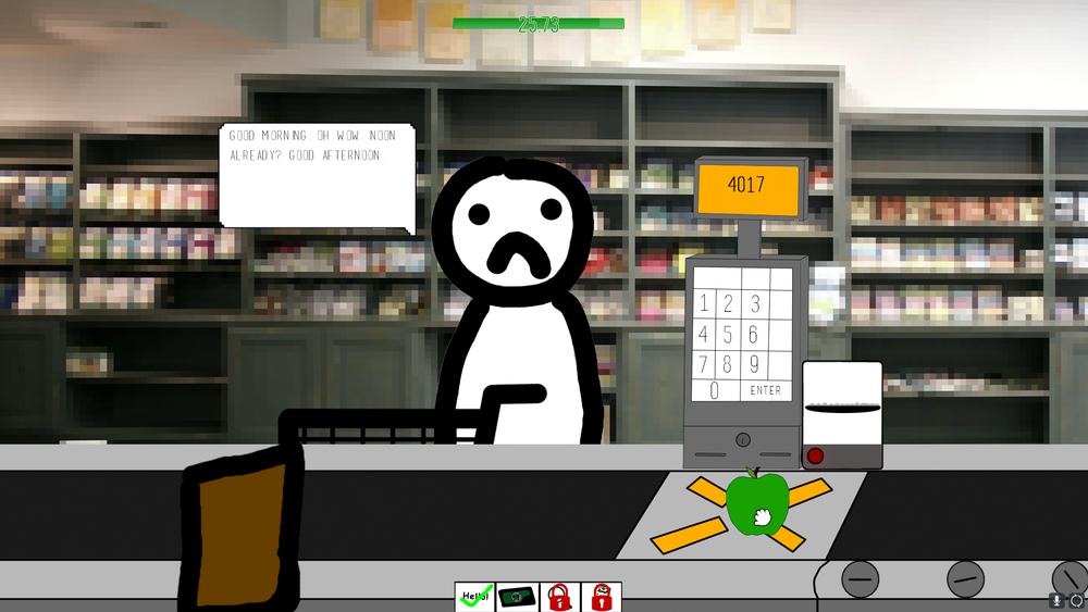 Screenshot from the Shoppy Mart Alpha