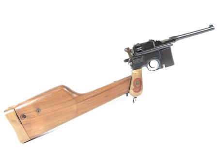 """Mauser C 96 """"Red Nine"""" cal. para"""