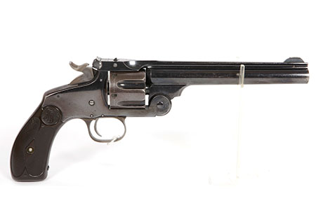 Revolver Smith & Wesson N°3 new model target cal. 32-44 - HG010
