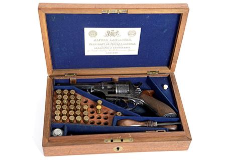 Revolver thomas en coffret cal. 380