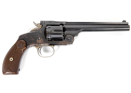 Smith & Wesson new model n°3 Target cal. 32-44 - HG013