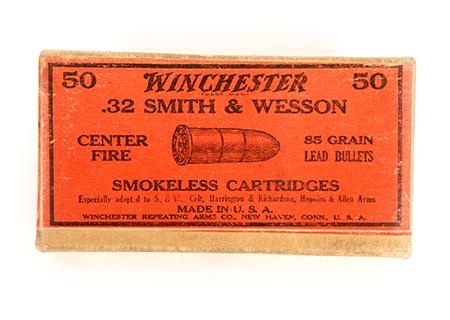 cal. 32 S&W Winchester - MU005