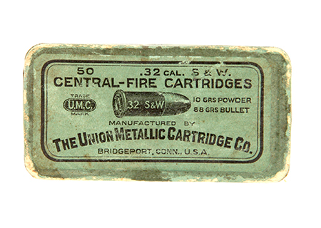 Cal. 32 S&W UMC - MU 006