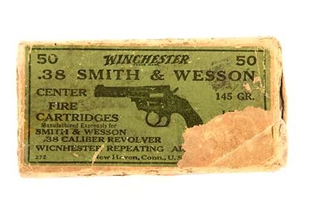 Cal. 38 S&W Winchester - MU007