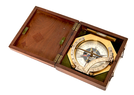 Universal equinoctial ring dial in case - SC013