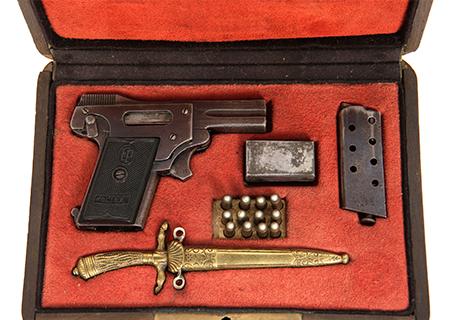 Pistolet colibri cal. 2,7 mm VENDU- HG031