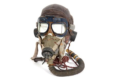 Helmet type C, MK VII googles, G oxygen mask - AV0020