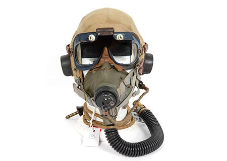 Type D Helmet, MK II googles with polarizing screen, G mask - AV021