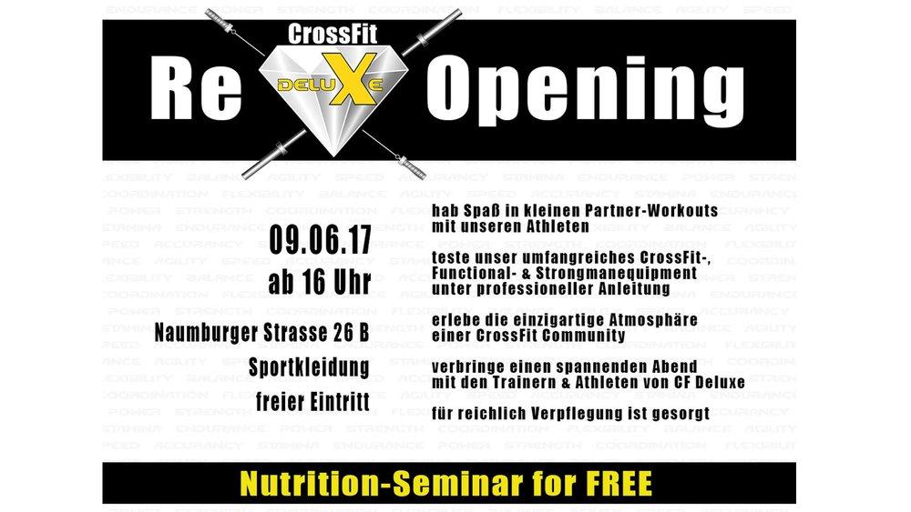 FOS Drinks fos- The Focus Drink CrossFit Deluxe Opening