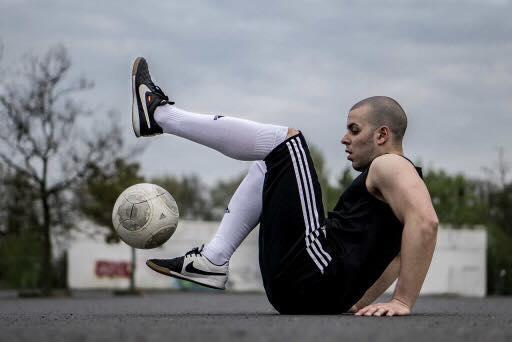 Mit eiserner Disziplin jeden Tag am Ball: Nicinho