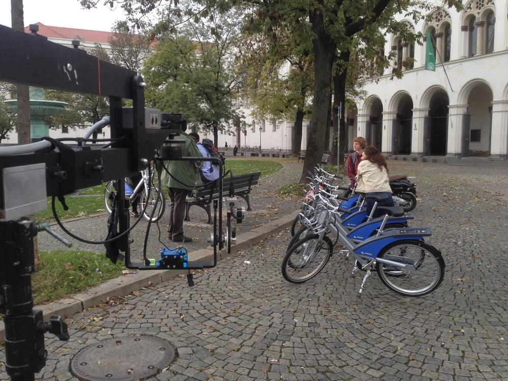 Fahräder an der Uni