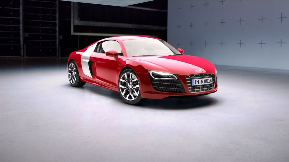 Audi R8 Packshot by Screencraft
