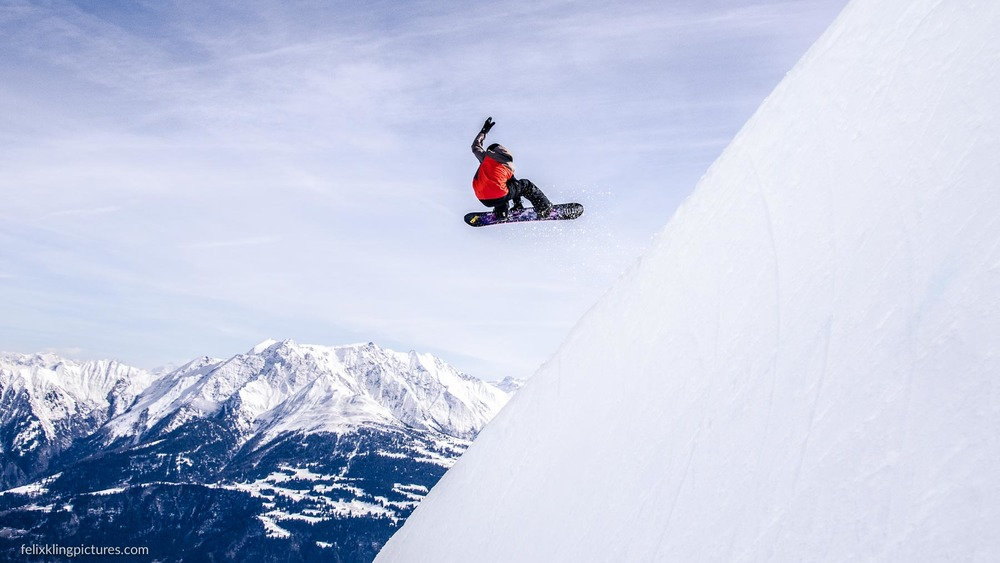 Jump, Halfpipe Switzerland