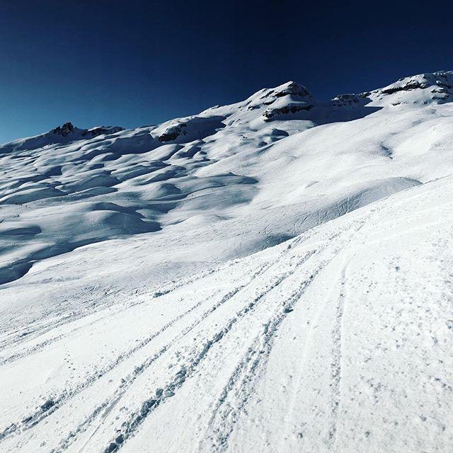 ⛷☀️😁 was ein mega genialer Tag aufm Berg! Bestes Wetter und zu meiner großen Überraschung einen super Schnee. 6 Stunden im Gelände... 😅 Was habt Ihr heute alles angestellt?  #Skifahren #Winter #Schnee #Schweiz #Laax #Alpen #Skiing #Powder #Berge #Mountain #Travel #Outdoor #Snow #Freeskiing #Backcountry #Gletscher #felixklingpictures