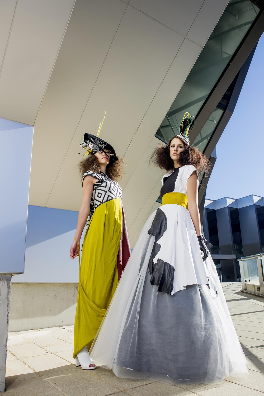 Photographer: Red Photogaphy Makeup: Belle Artistry Models: Nicole Luker, Rachelle Dawson (Haus Models)