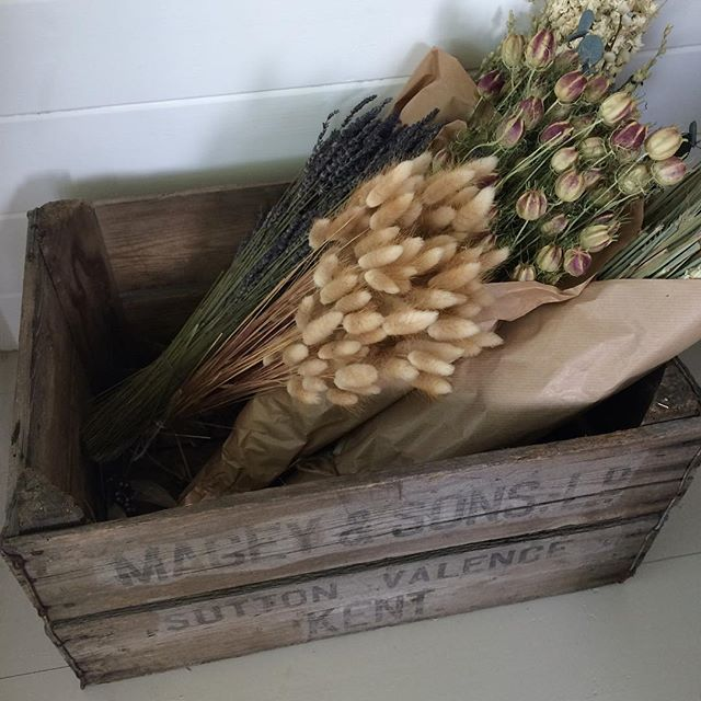 Lufly dried fleurs that go into my gift boxes. See @whitebeamgifts