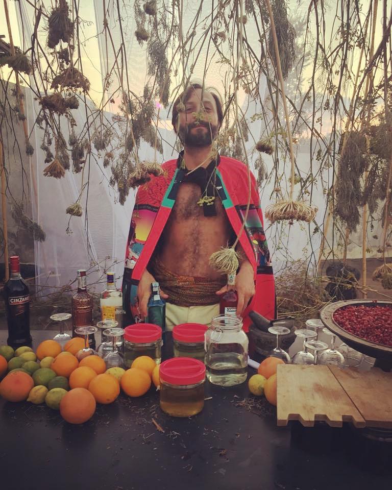 Love Bar, Volcano Extravaganza, Stromboli, Alex Cecchetti 2018