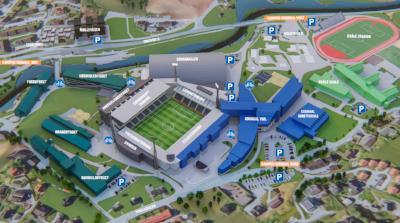 Laste ned Campus Sogndal kart (3D) -