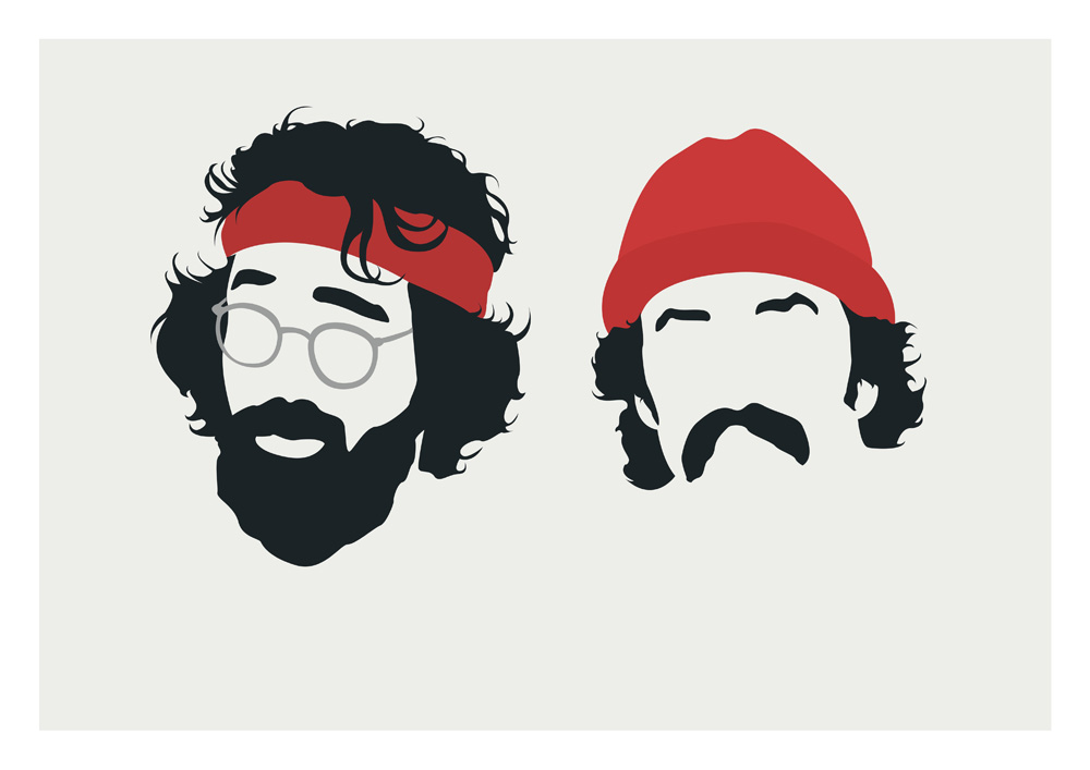 Image result for cheech and chong silhouette