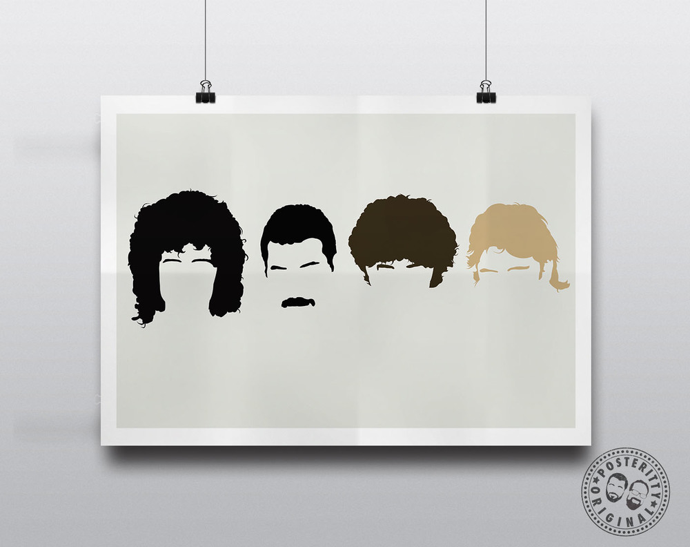Queen band silhouette images for Art minimal facebook