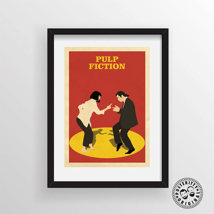 Pulp Fiction Minimalist Poster Posteritty