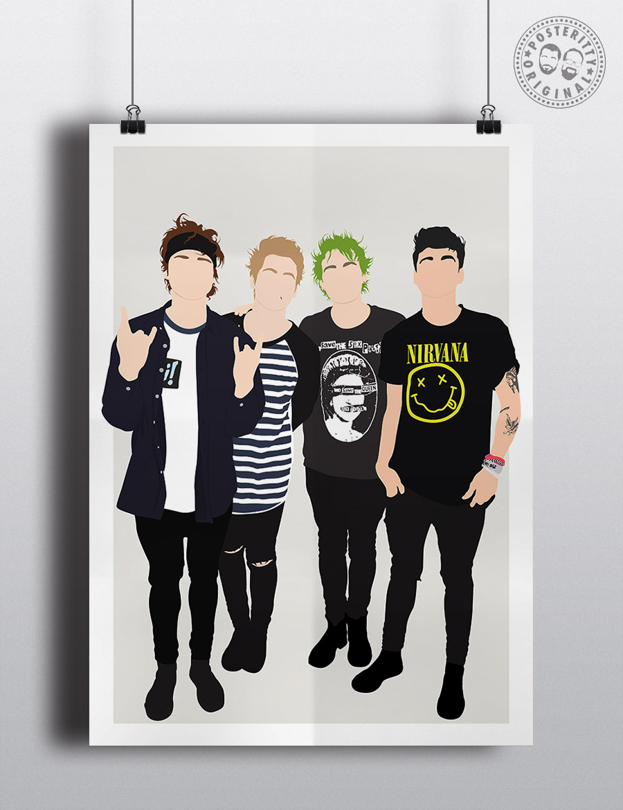 5sos poster design - Posteritty 5 Seconds Of Summer Competition Posteritty5sos