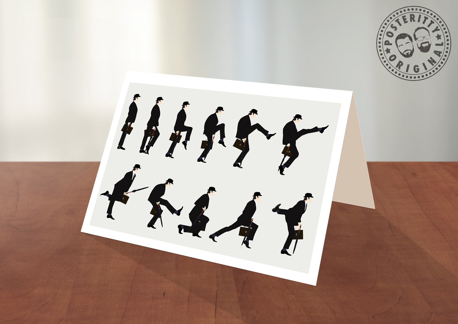 Ministry of silly walks greeting card posteritty ministry of silly walks greeting card kristyandbryce Image collections