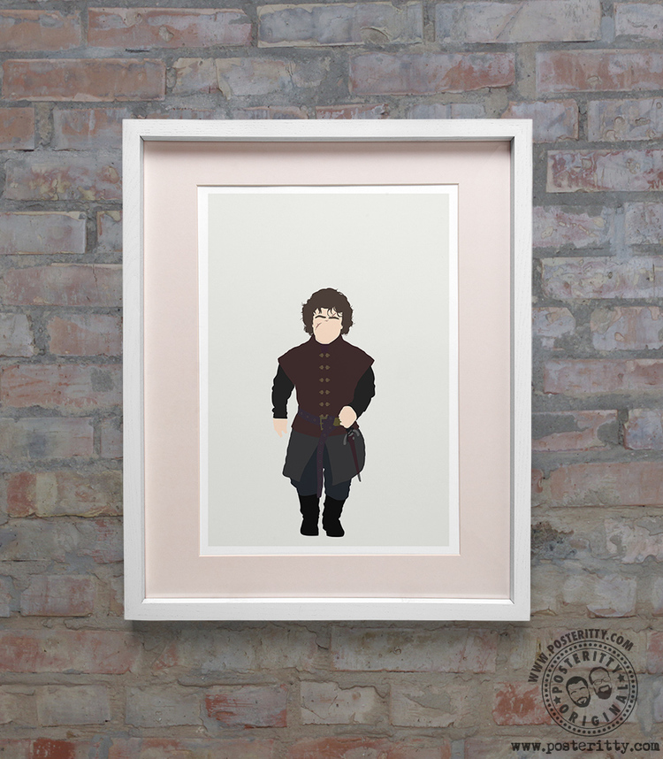 Game of Thrones - Tyrion - Minimalist Poster — Posteritty